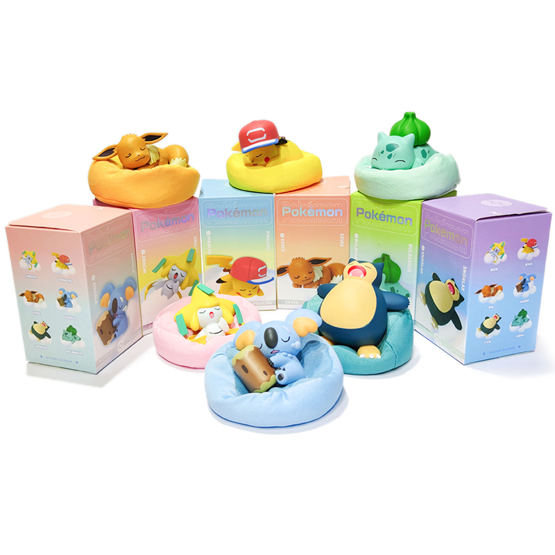 Серия покемонов Звездная мечта Пикачу джирачи Иви комала снорлакс Бульбазавр Аниме фигурки куклы игрушки 2
