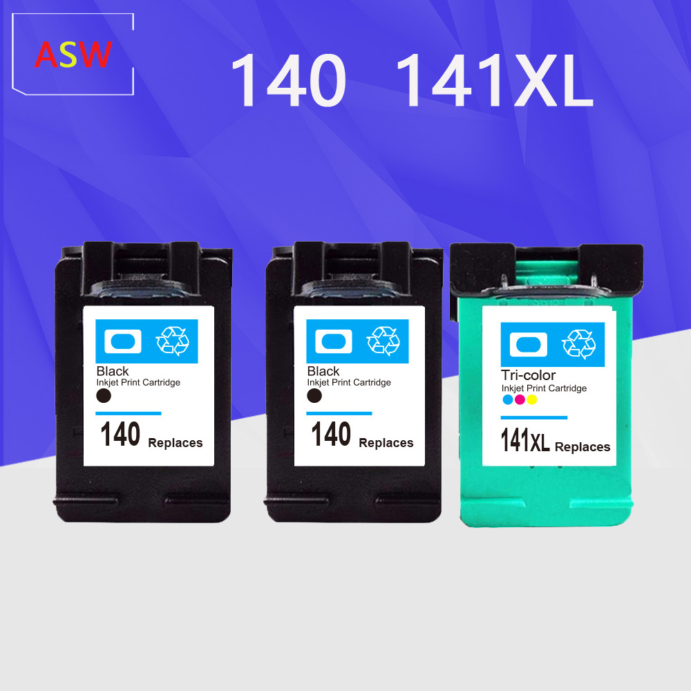 Refilled Ink Cartridge Replacement For HP 140 141 For Hp C4583 C4283 C4483 C5283 D5363 Deskjet D4263 D4363 C4480 Printer