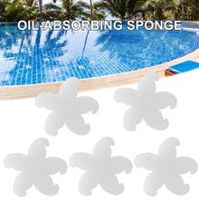 цена на Oil-Absorbing Sponge Low Density Useful Oil Scum Cleaner for Spa Hot Tub Swimming Pool #4O