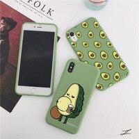 Divertenti custodie per telefoni Avocado per Xiaomi Redmi Mi Note 10 K20 Poco X3 NFC M3 10T 11 Lite 9T 5 8T 7A 10S K40 6 8 9 K30 Pro 9C borsa in TPU