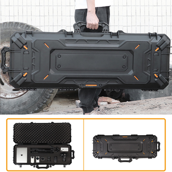 Military Tactical Rifle Protective Box Waterproof Big Airsoft Shooting Hunting Portable Pistol Hard Case for Camera Gun Storage - discount item  66% OFF Hunting