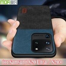 Mofi capa traseira de silicone para samsung galaxy, capa de luxo para s20 ultra para samsung galaxy s20 s 20 capa s20 plus