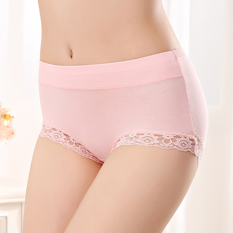 Ladies knickers womens knickers soft lace mid rise