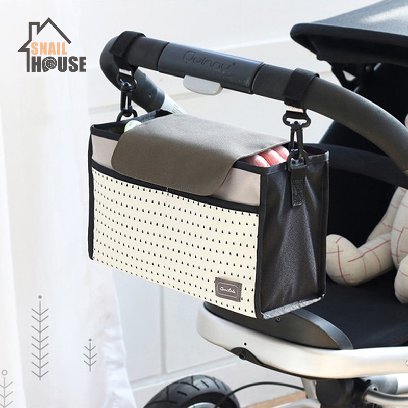 Snailhouse Multifunctional Diaper Bag Mummy Storage Bag For Baby Care Stuff Collection Bag Baby Car Hanging Stroller Nappy Bags