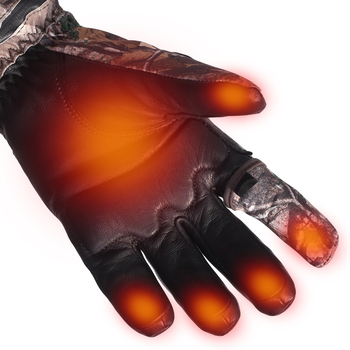 Heated Hunting Gloves Carbon Fiber Transfer Running Skiing Bicycling  Electric X-tiger 2020 Luva De Ciclismo Tactical Gloves 3