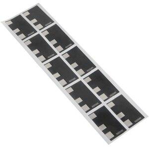 Image 2 - 10 sayfa 135 35mm dökme Film DX kod ISO 50 100 250 400 500 etiket el rulo etiket otomatik ISO tespit