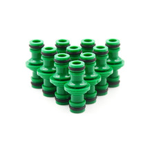 5 Pcs Joiner Repair Coupling 1/2' Garden Hose Fittings Pipe Connector Homebrew Quickly Connector Wash Water Tube Connectors
