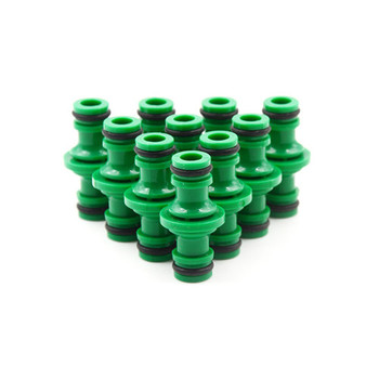 цена на 5 Pcs Joiner Repair Coupling 1/2' Garden Hose Fittings Pipe Connector Homebrew Quickly Connector Wash Water Tube Connectors