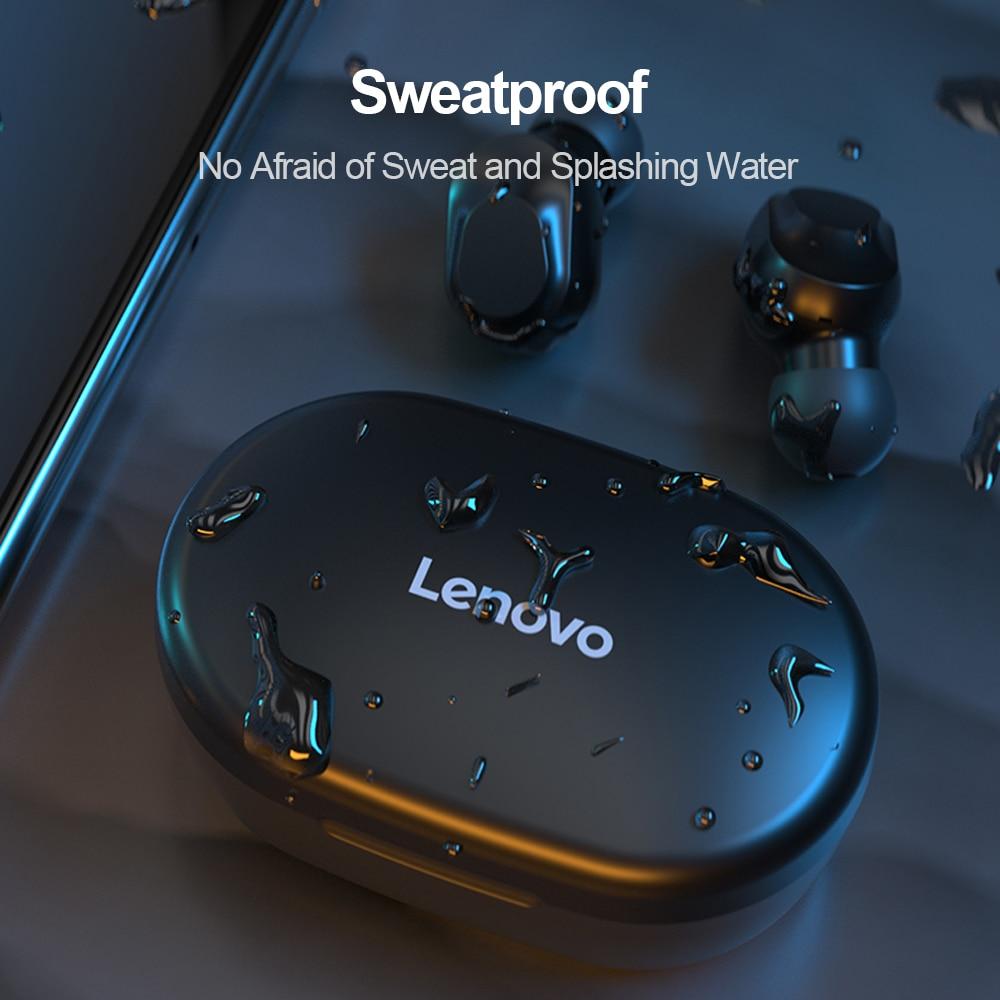 Schnelle Lieferung Original Lenovo XT91 TWS Ohrhörer BT 5,0 Drahtlose Kopfhörer AI Stereo Sport Headset Noise Reduction mit Mic