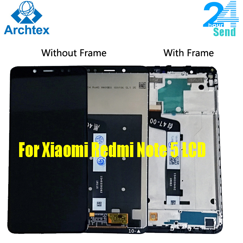 AAA+ <font><b>LCD</b></font>+Frame For <font><b>Xiaomi</b></font> <font><b>Redmi</b></font> <font><b>Note</b></font> <font><b>5</b></font> <font><b>Pro</b></font> <font><b>LCD</b></font> <font><b>Display</b></font> <font><b>Screen</b></font> Replacement For <font><b>Redmi</b></font> <font><b>Note</b></font> <font><b>5</b></font> <font><b>LCD</b></font> Snapdragon 636 <font><b>5</b></font>.99 inch image