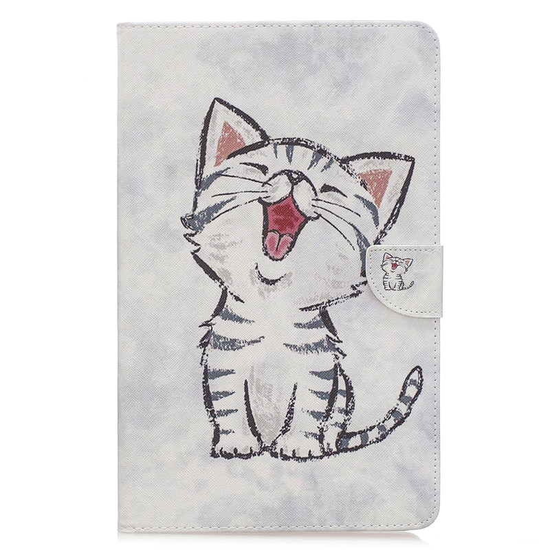 Cute Cat Unicorn Puppy Butterfly Tablet Cover For Samsung Tab A 10 1 2019 Case T510 T515 Stand Wallet Case For Tab A 10.1 2019