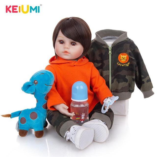 Кукла-младенец KEIUMI 18D05-C346-S08-T06 1