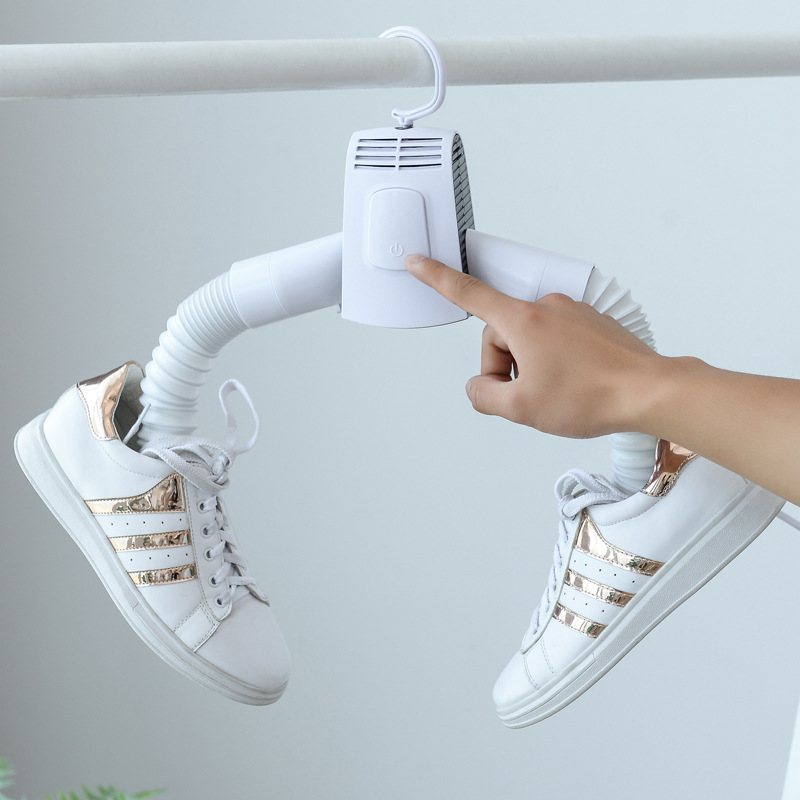 Portable Electric Clothes Drying Rack Dryer Hanger Folding Travel Laundry Shoes