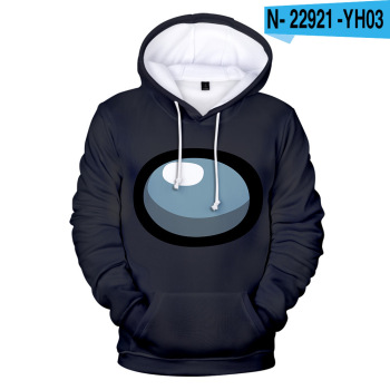 New Autumn Winter Tops Funny Print Among Us Hoodie Cartoon 3D Printed Pullover Sweatshirt Adult Harajuku Anime Pullover 25