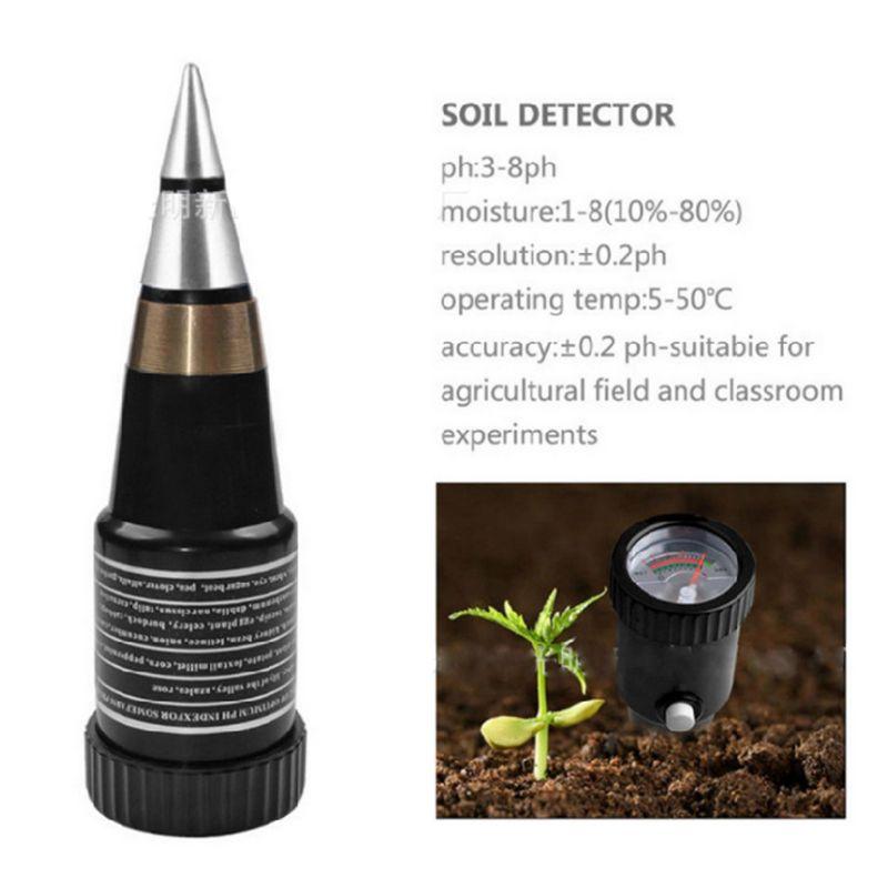 Два-в-одном измеритель кислотности почвы PH значение PH тестер гигрометр для определения влажности солености Высокая чувствительность качество почвы испытательное оборудование