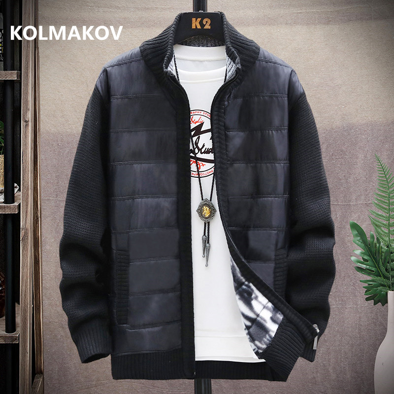 2020 winter Men's high quality Knitted thicken Mens Coats Male Sweater Casual Keep warm Male Cardigan Sweaters Men size M-3XL