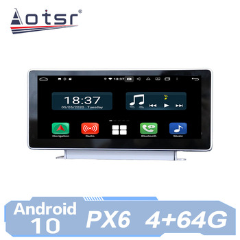 AOTSR Car Radio Auto Android 10 For Audi A4 A4L B9 S4 V9 A5 F5 2017 2018 2019 Multimedia Player GPS Navigation IPS AutoRadio image