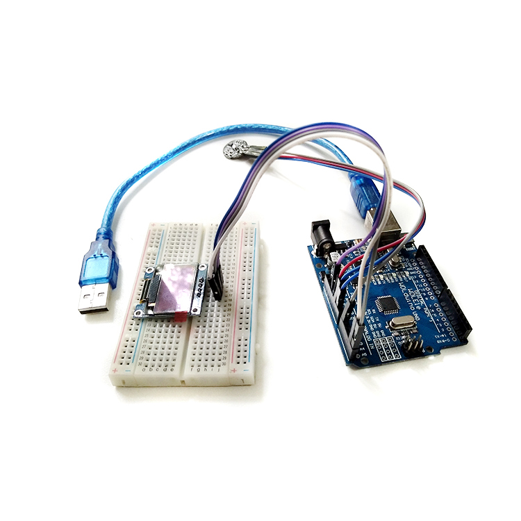 ECG Heart Rate OLED Display Kit HRV Pulse Sensor