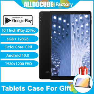 Alldocube iPlay 20 Pro 10.1 inch tablet Andorid 10.0 Octa Core FDD LTE Tablets 6GB RAM 128GB ROM 1920x1200 FHD IPS 5G WiFi GPS