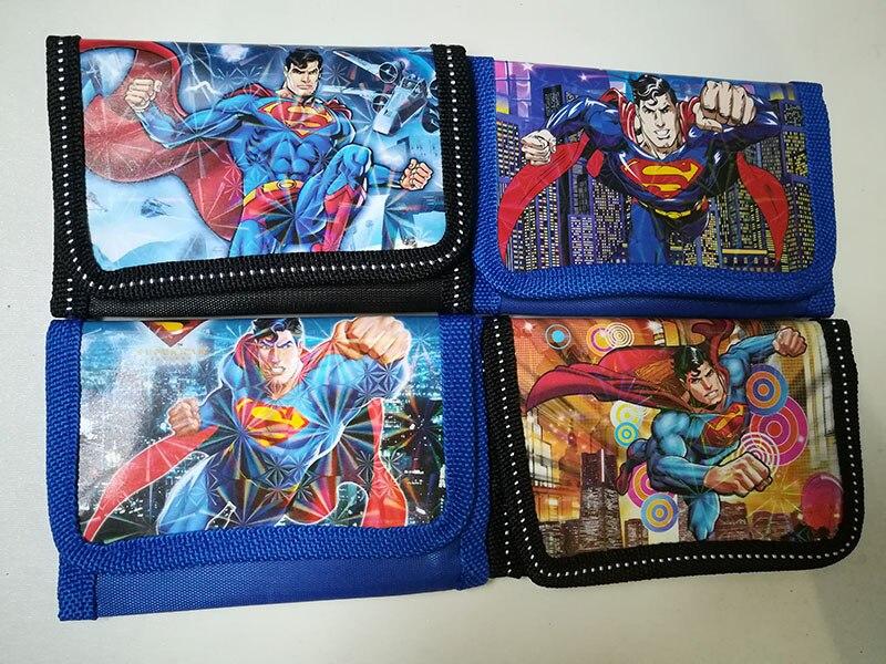 12Pcs Superhero Purses Money Bag Coin Pouch Children Purse Small Wallet For Kids Party Supplies Gift