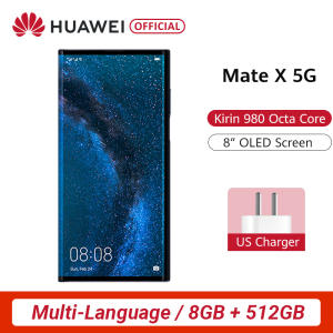 Huawei Hisilicon Kirin 980 Mate X Folding-Screen 512gb 8gb 5G/WCDMA/LTE/GSM Nfc Supercharge