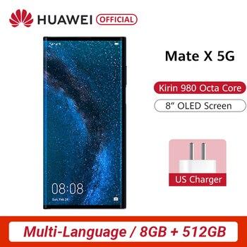 Pré-venda original huawei companheiro x dobrável tela inteligente telefone folden 6.6 Polegada triplo câmera 55 w supercharge 5g celular