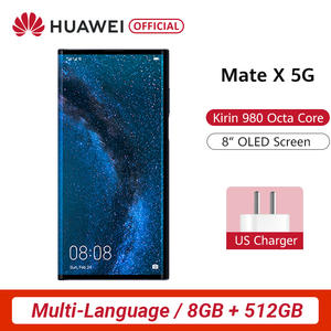 Huawei Hisilicon Kirin 980 Mate X Folding-Screen 512gb 8gb 5G/LTE/GSM/WCDMA Nfc Supercharge