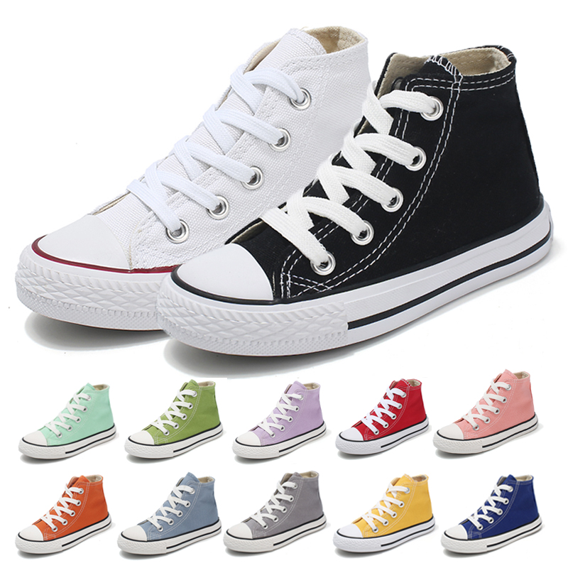 Baby Sneakers Fashion Canvas Toddler Boy Shoes Children Girls Canvas Shoes Toddler Shoes Sneakers For Boys Kids Shoes For Girl