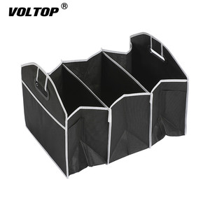 Image 2 - Car Back Seat Organizer Multi Pocket Storage Bag Large Capacity Folding Car Trunk Stowing Tidying Accessories