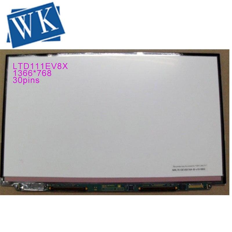 For Toshiba Screen LTD111EV8X Laptop Screen LCD Panel 1366*768 Matte LVDS 30Pins MATTE Free Shipping