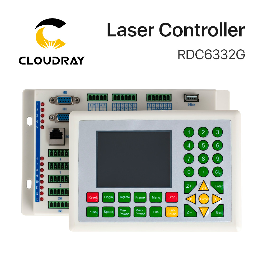 Cloudray Ruida RD RDC6332G 6332M Co2 Laser DSP Controller For Laser Engraving And Cutting Machine RDC DSP 6332G 6332M