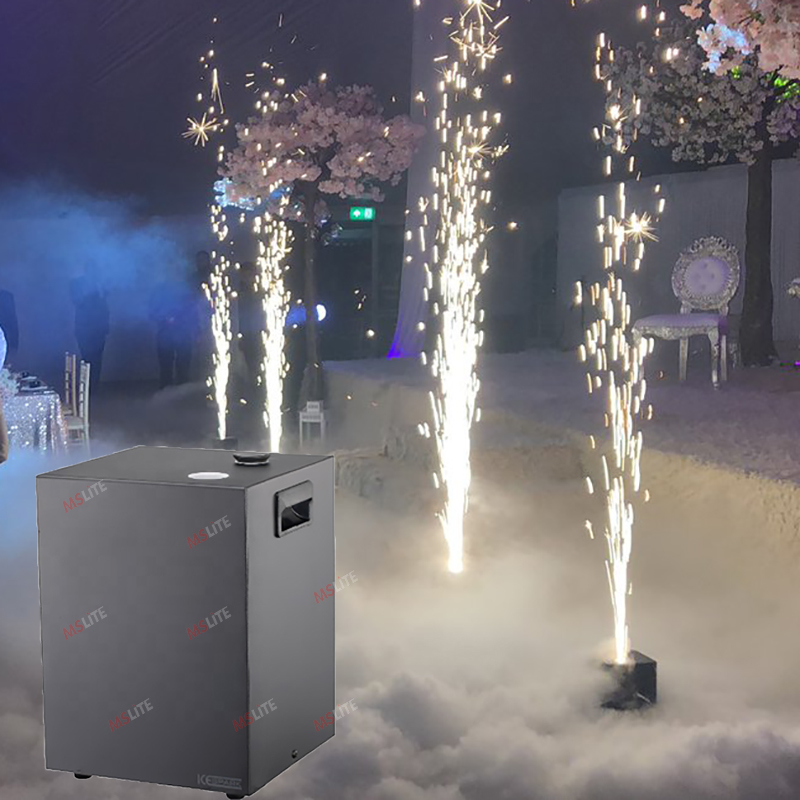 Hot Sale Stage Effect DMX Electric Cold Spark Machine Fireworks Spark Machine For Wedding Party Shows