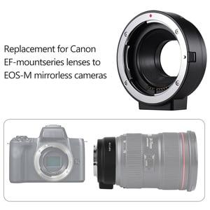 Image 4 - AF Lens Mount Adapter Ring Extension Tube as Viltrox EF EOS M MOUNT for Canon EF EF S Lens to Canon EOS M2 M3 M6 M10 M50 M Mount