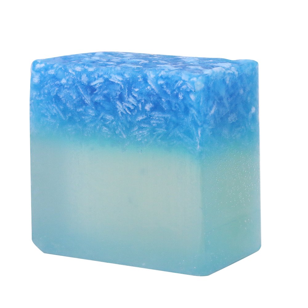 Bule Sea Handmade Soap Gemstone Essential Oil Soap Natural Non-Stimulating Deep Clean Oil And Acne Control Bar Soap Bar TSLM1