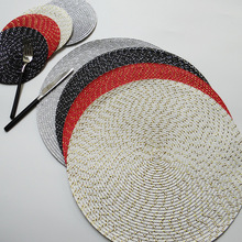 Горячая ткацкая подстилка в западном стиле Европейский стиль PP подстилка Teslin для дома в отеле с толстой изоляцией еды