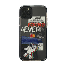 Astronaut handy fall iPhone11 pro max transparent xs max all-inclusive xr 8 plus 7 graffiti handy fall iPhoneSE()