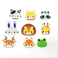 Cartoon Animal Embroidery Cloth Stickers Cute Clothes Patch Diy Garment Accessories New2