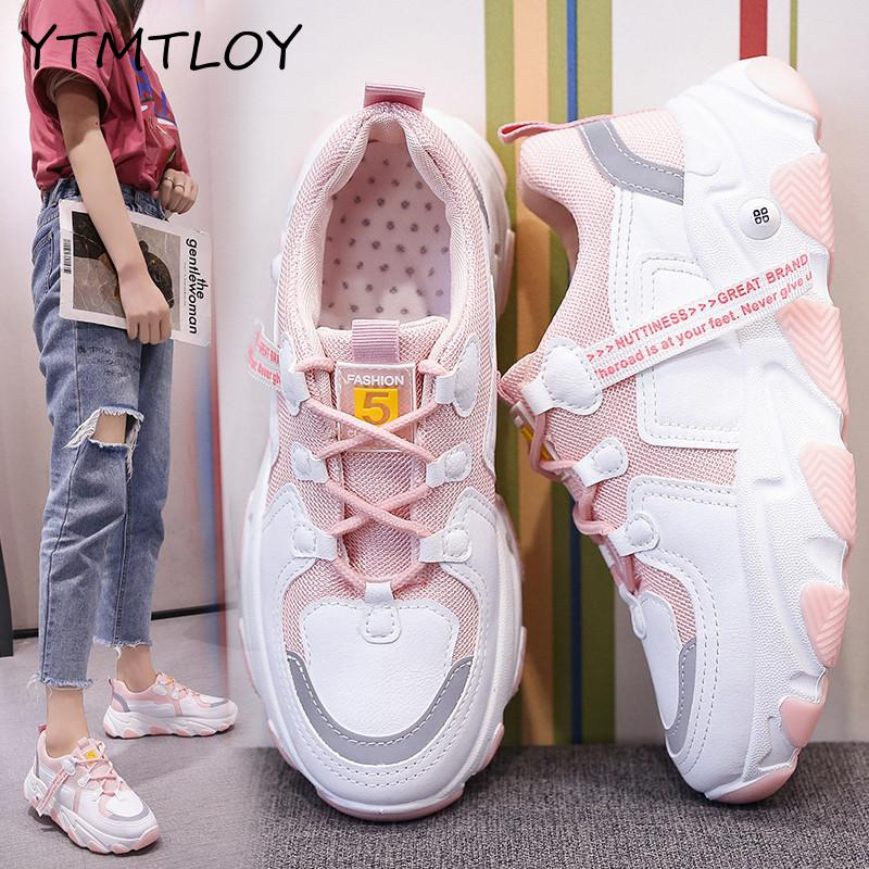 Women's Sneakers Platform Light Sports Shoes For  Breathable Slimming Fitness Swing Shoes Women Platform Sneakers Shoes Zapatos