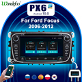 Car Radio 2 din android 10 PX6 for FORD FOCUS Mondeo S-MAX C-MAX Galaxy kuga 2DIN auto audio car stereo navigation multimedia