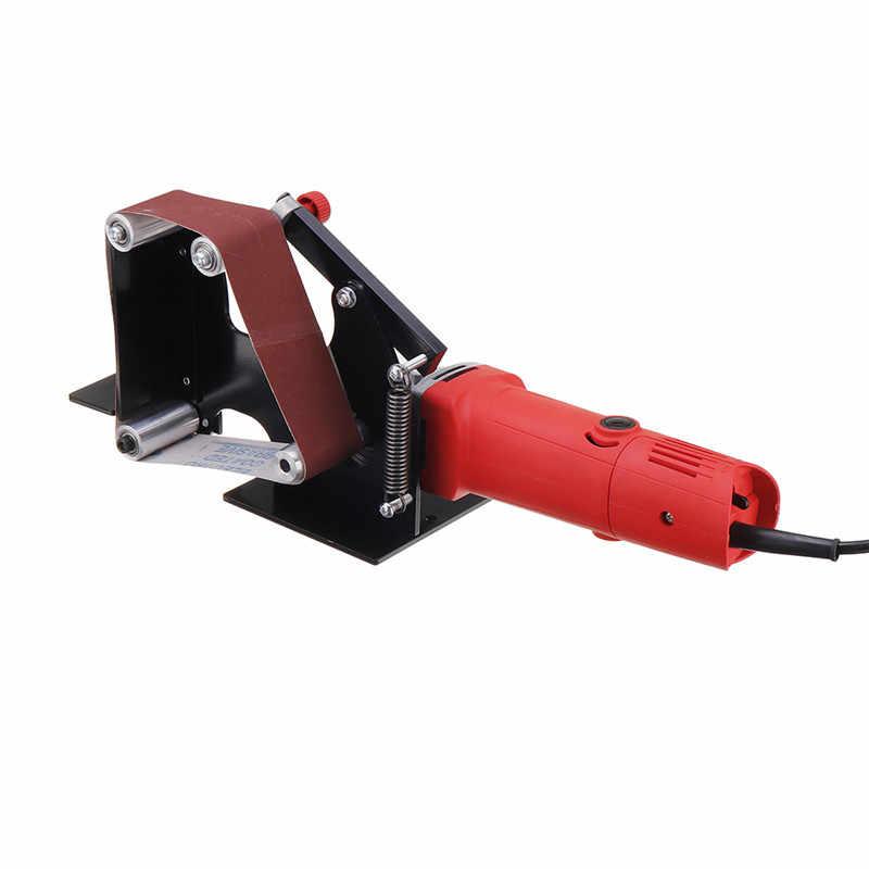 المهنية الكهربائية الحديد زاوية طاحونة حزام رملي محول 50 مللي متر حزام ل 115 125 الرملي آلة ماكينة الفرم والصقل