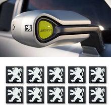 10 шт 15 мм наклейка на ключ от автомобиля случайных стикеров