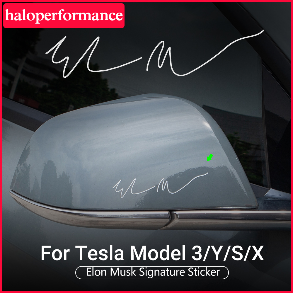 Elon Musk Car Sticker Decal Fit For Tesla Model 3 2021 Accessories model3 tesla sticker tesla model y model 3 tesla model s x