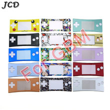 JCD Front Shell Case Faceplate Cover for GBM Housing Front Case Repair Part For Nintendo Gameboy For GBM Micro System