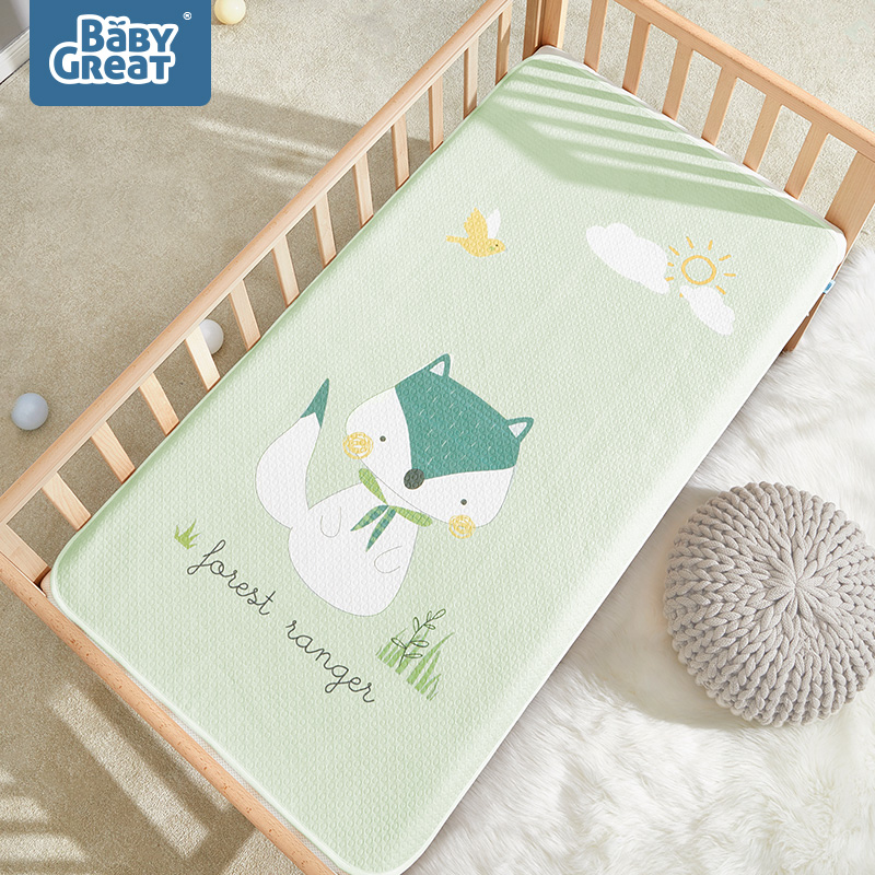 BabyGreat Waterproof Baby Changing Pads Portable Foldable Washable 100% Cotton Breathable Infant Bedding Leakproof Pad