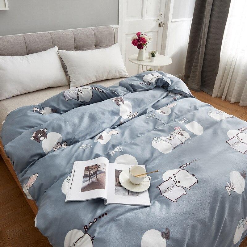 Edredón de una pieza dormitorio de estudiantes cama individual de 1,0 M edredón de doble dormitorio Extra grande una generación de grasa