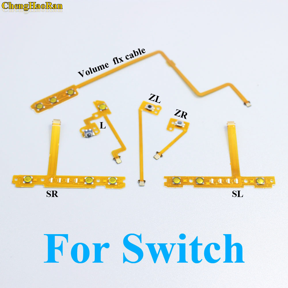 Repair SL SR ZL ZR L Button Ribbon Flex Cable for Nintendo NS Switch Joy-Con L R Button Key for JoyCon Controller parts 3