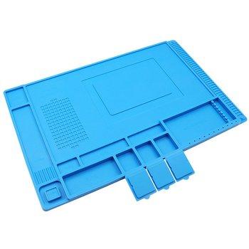 Heat Insulation Working Mat Magnetic BGA Insulator Platform Non-Slip Non-static Phone Computer Circuit Board Repair Mat