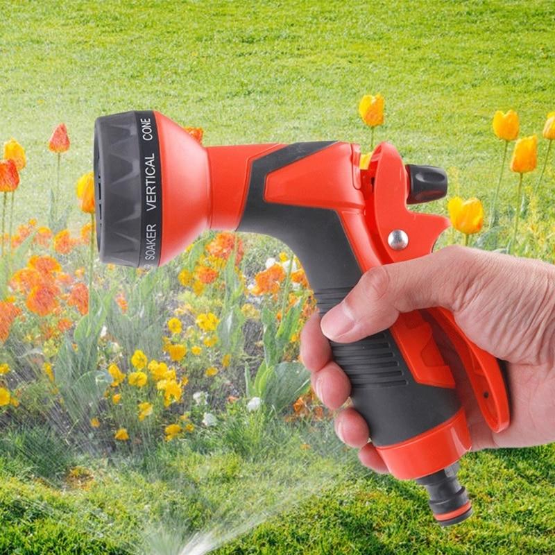 4 шт. Сад вода спрей газон полив спринклер машина мойка регулируемый шланг насадки высокое давление мощность стиральная машина универсальный