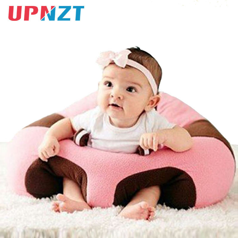 Baby Seats Sofa Short Plush Support Seat Filled With Soft PP Cotton Baby Infant Comfortable Learning Chair Travel Car Seat