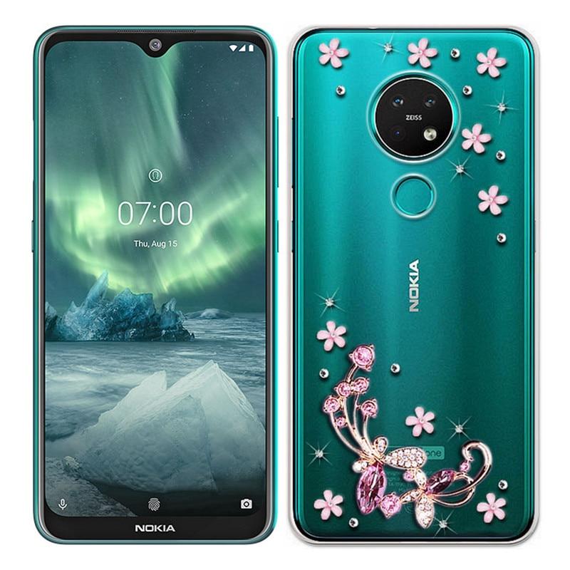 Glitter Case For Nokia 7.2 6.2 1 2.1 2.2 3 3.1 4.2 5 5.1 6.1 Plus Phone Case 3D Bling For Nokia 5.4 3.4 2.4 5.3 1.3